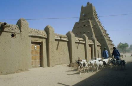 Sankore-Moschee im sagenumwobenen Timbuktu
