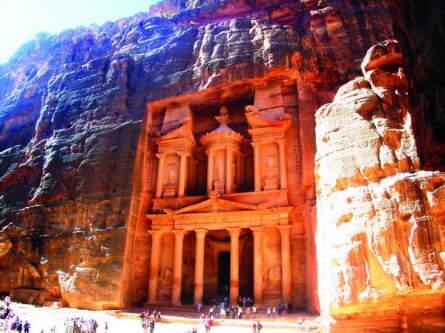 das Schatzhaus in Petra