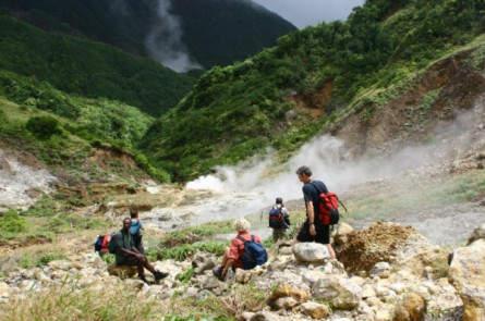 Wanderung zum Boiling Lake auf Dominica