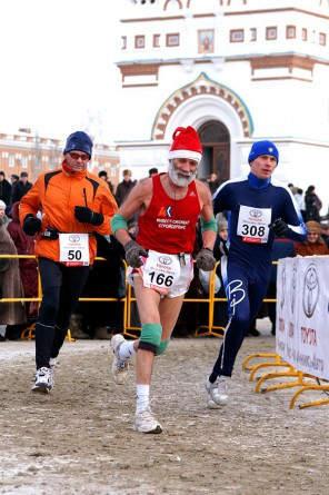Siberian Ice Marathon in Omsk