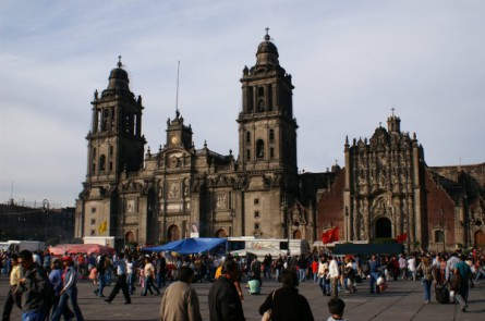 Kathedrale in Mexiko Stadt