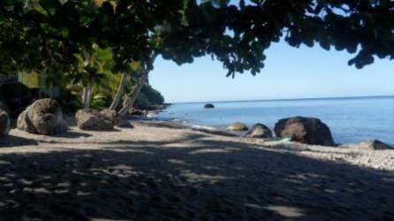 Blick auf die Karibische See...