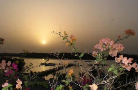Sonnenuntergang in Djilor