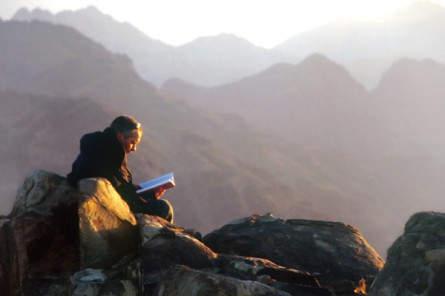 Auf dem Katharinenberg, dem höchsten Berg Ägyptens