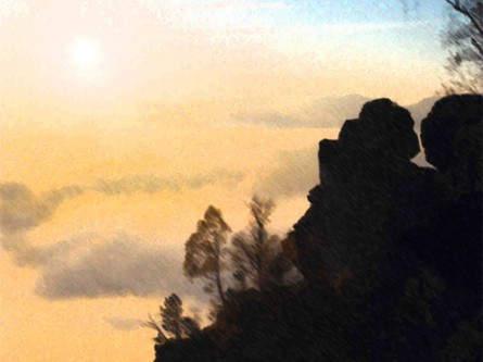 Bekannt für seine zahlreichen tollen Bild- und Fotomotive: der Malerweg in der Sächsischen Schweiz