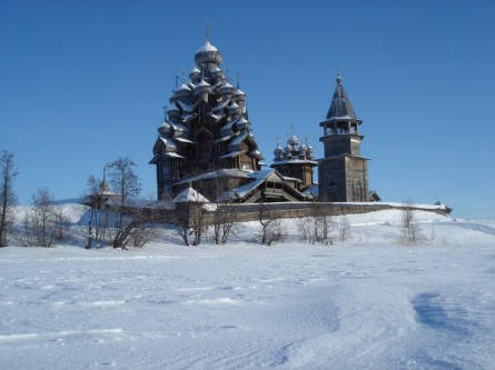 Russisch-Karelien im Winter