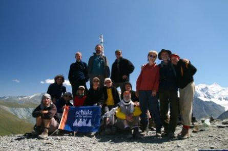 Trekkinggruppe 2008 mit Steffen Oppitz