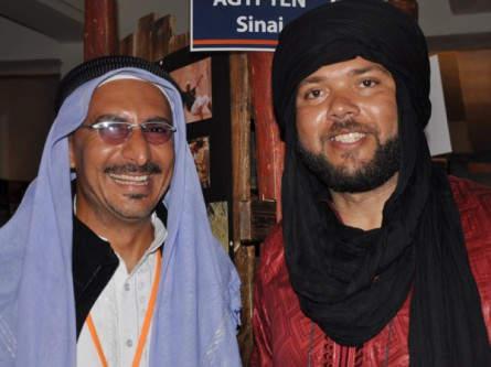 Unsere Reiseleiter Sam und Khaled auf den Reisetagen 2011