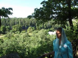 Reizvolle Natur der Insel Valaam auf einer geführten Wanderung genießen