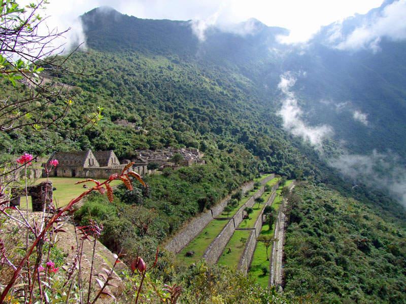 Choquequirao, die Schwesterstadt von Machu Picchu ist nur zu Fuß zu erreichen
