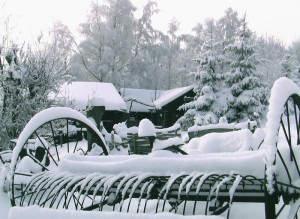 Silvester können Sie entweder im Schnee (im Bild: Mufflonhütte) oder auch im Warmen verbringen...
