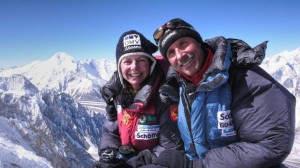 Gerlinde Kaltenbrunner & Ralf Dujmovits werden den Eröffnungsvortrag der 9. Bergsichten halten  (© Ralf Dujmovits www.amical.de)
