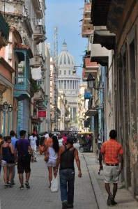Durch die Gassen Havannas