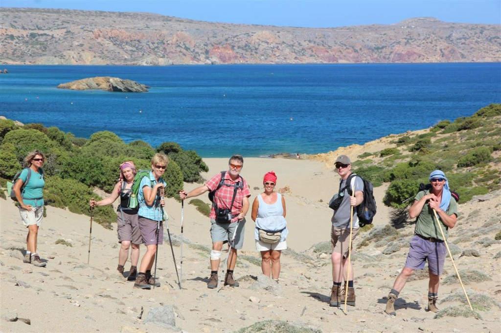 Auf besonderem Weg zum Palmenstrand Vai ganz im Osten Kretas