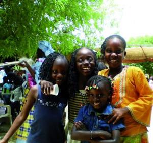 Afrikanische Lebensfreude