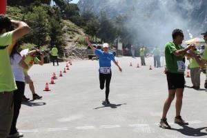 Testlauf Samaria Run 2012 durch Ines Schmitt