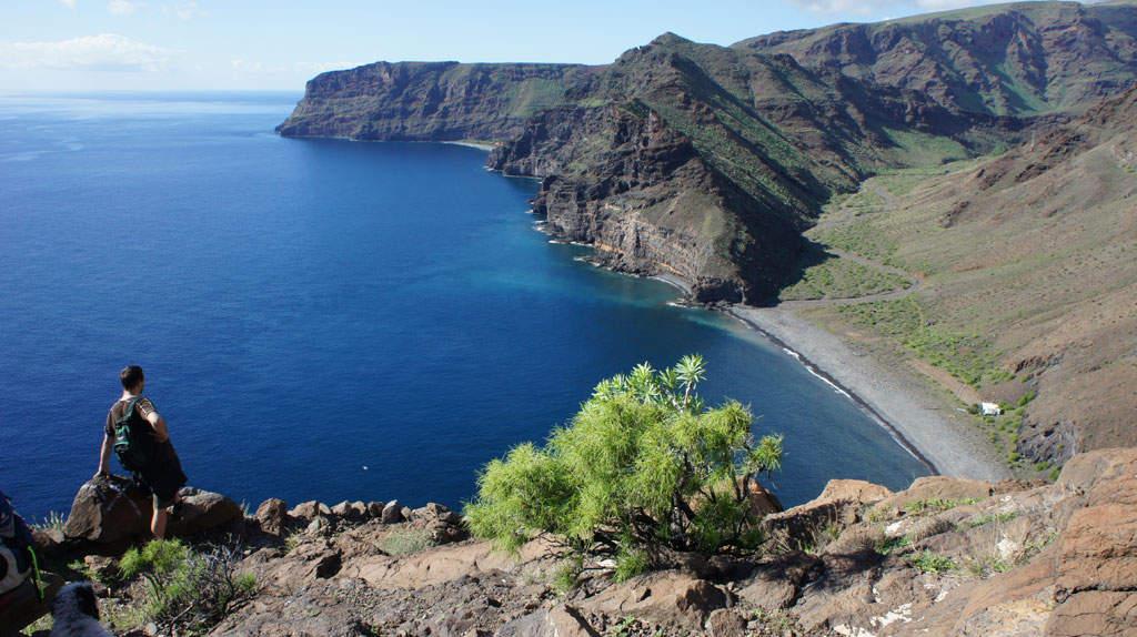 Kanaren - Blick über die Bucht