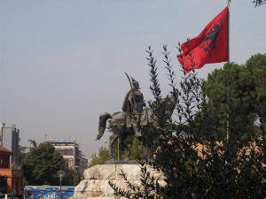 Zentralplatz in Tirana