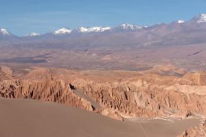 Einer der trockensten Plätze der Erde, die Atacamawüste. Hier: Blick ins Tal des Todes (Foto: M. Thiele)