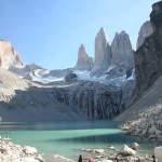 Im Nationalpark Torres del Paine wandern Sie von Hütte zu Hütte.