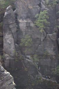 Klettersteige in der Sächsischen Schweiz: für jeden Anspruch gibt es Routen