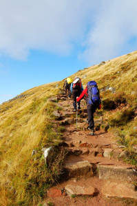 Aufstieg zum Ben Nevis