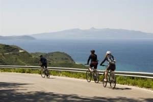 Mit dem Fahrrad entlang der Ionischen Küste
