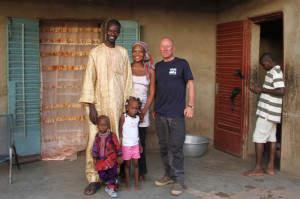 Pfingstsonntag: Ich bin zu Besuch bei Boureimas Familie