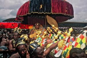 Verehrung der Ashanti-Könige