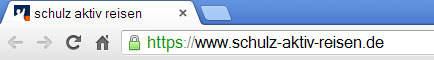 SSL Verschlüsselung im Browser erkennen