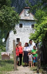 Familie Nika aus Nordalbanien
