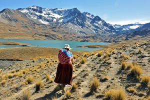 Erste Eindrücke nach dem Start der 3-tägigen Wanderung im Condoriri-Gebiet am Laguna Tuni