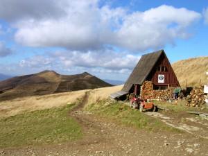 Herbststimmung im Bieszczady-Gebirge