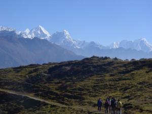 Untwerwegs im Helambu Himal