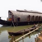 Unser Hausboot in den Backwaters von Kerala