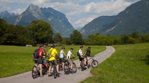 Fahrrad-Tour in den Julischen Alpen