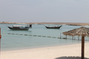 Auch das ist der Oman - einladende Strände