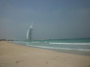 Am traumhaften Jumeirah Beach