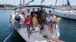 Einwöchiger Segeltörn in Kroatien: Rückkehr in den Yachthafen Biograd-na-Moru