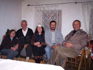 Gastfamilie im Dorf Theth (Nordalbanien)