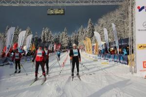 50 km im klassischen Stil stehen beim Hauptlauf am Sonntag auf dem Programm.