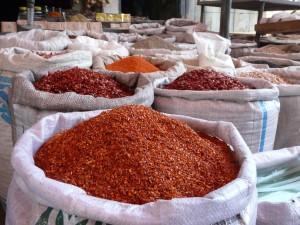 Markt in Kahsgar