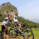 Mountainbiken im Bergland
