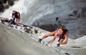 """Climbing free"" ..."
