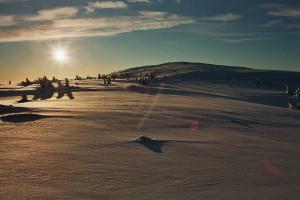 Norwegen im Winter ...