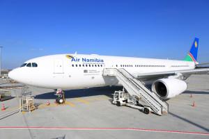 Der neue A 330 startet durch - von Frankfurt nach Windhoek