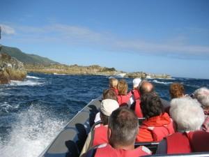 Bootsfahrt vor Santa Maria