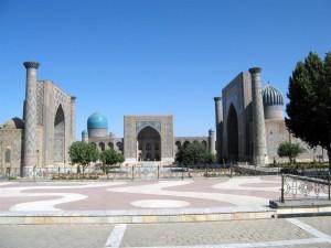 Der Registan-Platz in Samarkand