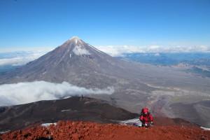 Aufstieg auf den spektakulären  Avatcha-Vulkan