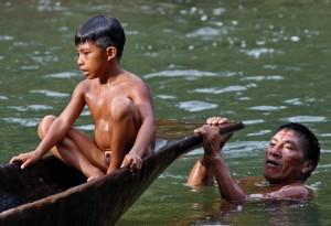 Bei zwei Terminen besuchen Sie den Stamm der Huaorani im ecuadorianischen Regenwald